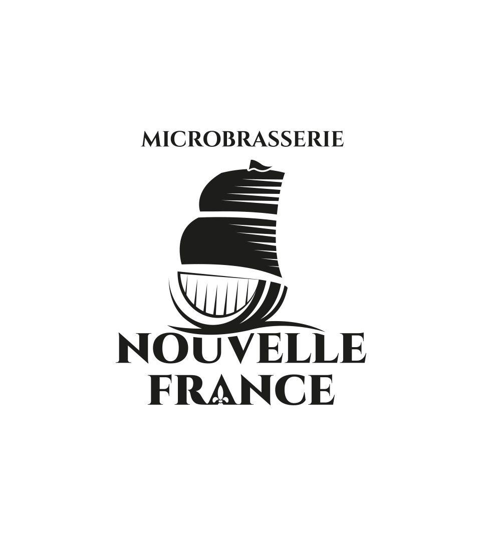 Logo Microbrasserie Nouvelle France