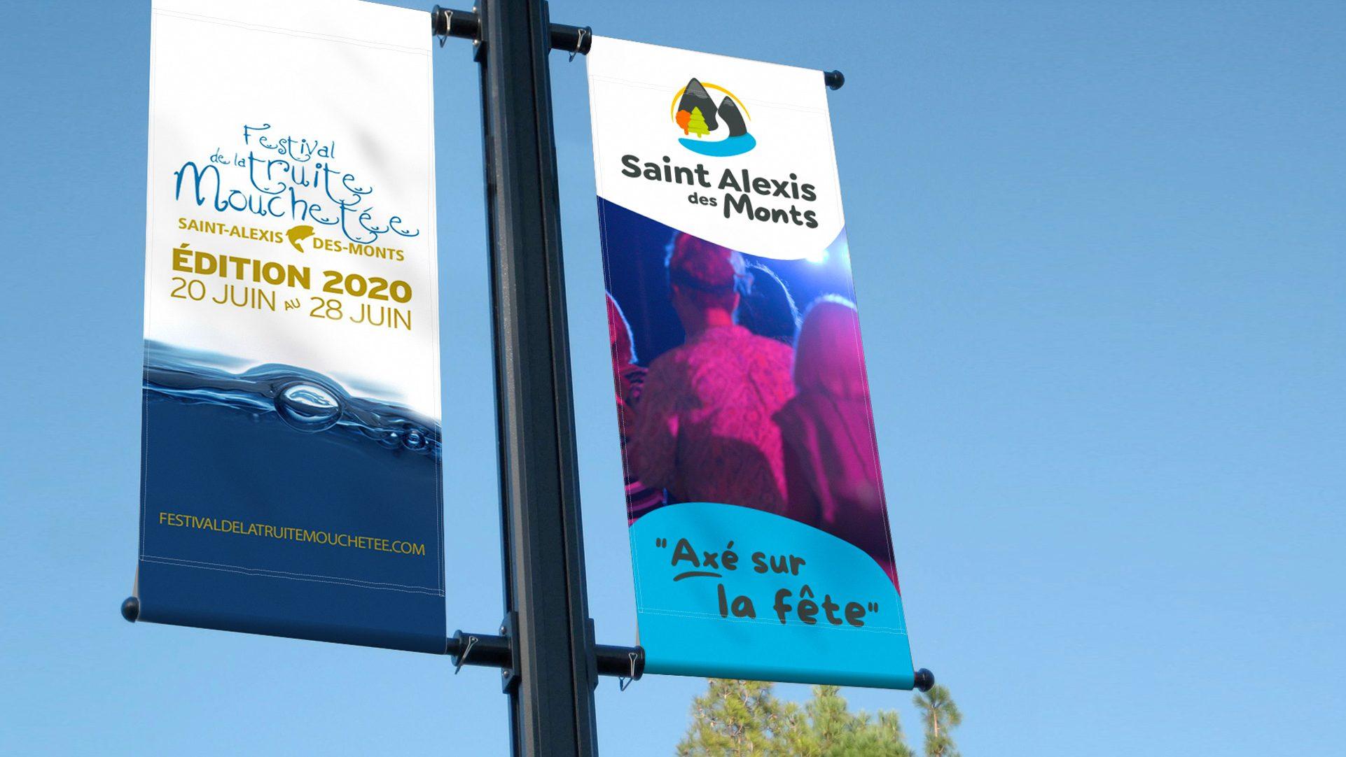 Bannière Saint-Alexis-des-Monts